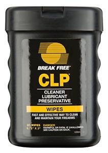 Break-Free BFI-WW CLP Multi-Surface Wipes 20-Sheets, 6.75 x 3-Inch