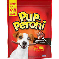Pup-Peroni Dog Snacks Original Beef Flavor (50 oz.) Free-Shipping