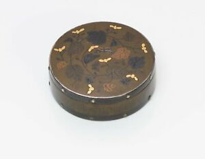 Antique Japanese Mix Metal Bronze Box