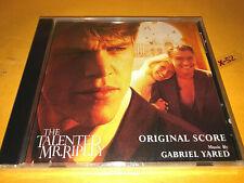Talented Mr Ripley soundtrack Promo Cd score Gabriel Yared Matt Damon Jude Law