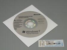 Windows 7 Home Premium 32Bit CD Hologramm mit SP1 + Win 7 OEM Lizenz Key