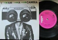 "BUGGLES I Am A Camera/Fade Away UK 7"" Single EX Cond"