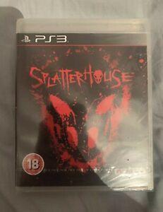* RARE * SEALED * Splatterhouse (Sony PlayStation 3, 2010)