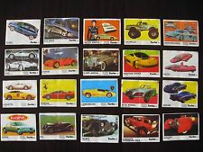 Vintage Bubble  Gum  Wrappers  Turbo  191-260  Full  serie     70 pieces
