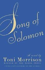 Song of Solomon By Toni Morrison Paperback Pre-Owned