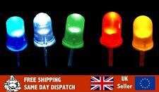 5mm LED Bulbs - Red/Blue/Yellow/Green/White Light Emitting Diode