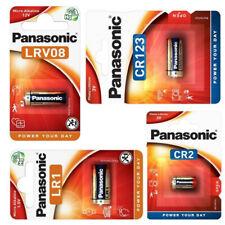 Pila Panasonic Alkalina para Mandos Camaras LRV08 23A 12V LR1 1.5V CR2 CR123 3V