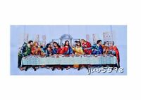 "LUXURY New Finished Cross Stitch Needlepoint""Last Supper""Home Decor"