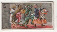 Mummers' Plays Traditional English Christmas St. George Dragon 1920s Ad Card