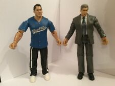 wwe jakks classic ruthless shane mr vince mcmahon toy wrestling figures