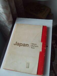 Japan Tokyo Olympic Year 1964 Fuji Photo Book 130+ Colour/B&W Images RARE