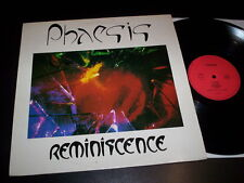 "Phaesis ""Réminiscence"" LP limited edition M.S.R. ‎– 54106 France 1989"