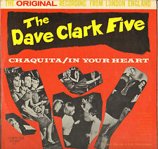 "DAVE CLARK FIVE / RICKY ASTOR & SWITCHERS ""CHAQUITA"" INSTRUMENTAL ROCK LP 1964"