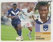 PASCAL FEINDOUNO # GUINEA GIRONDINS BORDEAUX SFC.SION TICKER  PANINI FOOT 2003 ~