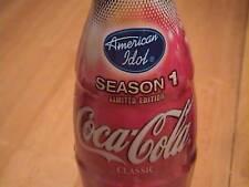 American Idol -  Season 1 coke bottle