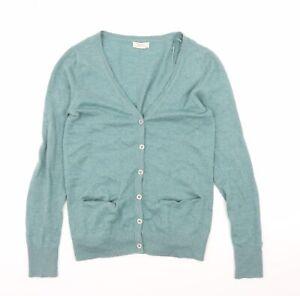 Fat Face Womens Blue  Knit Cardigan Jumper Size 6
