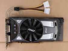 MSI NVIDIA GeForce GTX 650 1 GB GTX650 1G D5 128bit 2×DVI 1×Mini HDMI Video Card