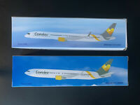 SET Condor Boeing 767-300ER & 757-300/ 1:200 PPC Holland Flugzeugmodell  NEU OVP
