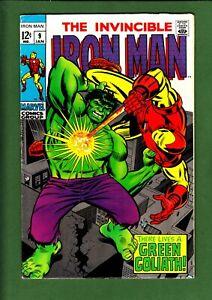 Iron Man 9 vs Hulk cover