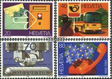 Postfrisch 1981 Jahresereignisse Schweiz 1191-1195 kompl.ausgabe