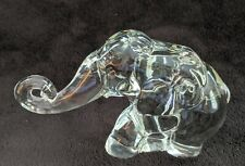 Heisey OR Imperial Crystal Medium Mama Elephant Animal