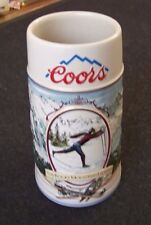The Rocky Mountain Legend Series Stein Coors 1991 Cross Country Skiing Skier