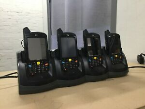 MC65 Motorola Mobile Computer Scanner Kit w/ 4-slot Cradle & Accessories