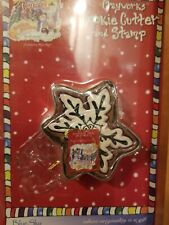 Blue Sky Clayworks Snowflake Cookie Cutter w/ Stamp 2003 New