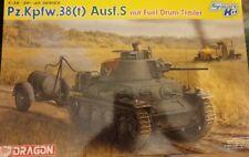 Dragon 6435  Pz.Kpfw.38(t) Ausf.S mit Fuel Drum Trailer - Smart Kit