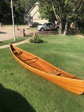 Hand Made 18' Cedar Strip Canoe