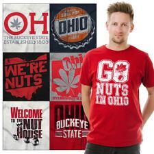 Ohio Graphic Tee For Mens Womens State Buckeye Souvenir T Shirts