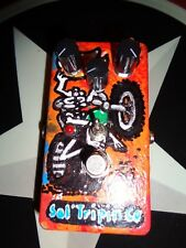 """Sal'tripin Pedal co """" Ghost Rider Overdrive/Dirty Boost """" Boutique USA made"""