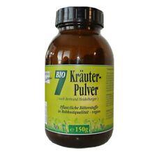 BIO Sieben Kräuter-Pulver 150g, Braunglas Heidelberger, Rohkost Gesund & Leben