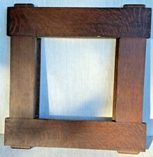 Small Mission Oak Frame, Mortised, Pegged, Stickley? Arts & Crafts