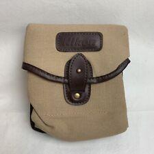 Nikon Camera Bag Case Belt Clips Khaki SLR DSLR