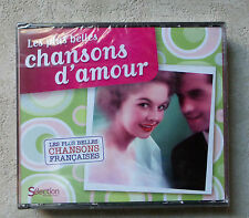 CD AUDIO / COFFRET 3XCD LES PLUS BELLES CHANSONS D'AMOUR READER'S DIGEST NEUF