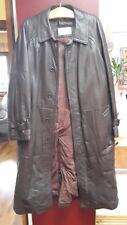 Ledermantel von Darebridge Größe 54 - Lamm Nappa in dunkel Braun
