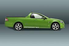 VE holden sedan ute gt stripes sandman evoke set of 3 custom racing stripes new