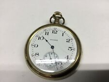 waltham 12s pocket watch