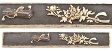 Antique Japanese Kozuka Document Box Flowers Nanako Samurai Sword Fitting Old