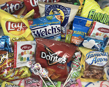 Care Package Snack Box Assortment Snack Sampler Gift Box 25 Count Fast Shipping!
