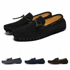 43/44 Men Bowknots Slip On Driving Moccasin Casual Penny Boat Shoes Loafers L