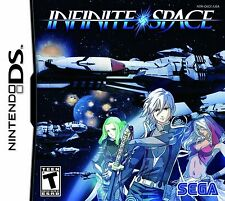Infinite Space (Nintendo NDS DS DSI 3DS Epic Sci-Fi Exclusive Sega RPG) NEW