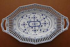 Schumann, Arzberg, porcelana, canastilla, Jugendstil, perejil-strohblumen, 1910,top+