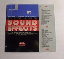 VA The Most Current And Authentic Sound Effects LP Bainbridge Rec. BT-6004 M 9A