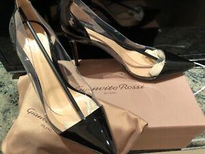 BRAND NEW - Gianvito Rossi Plexi Shoes