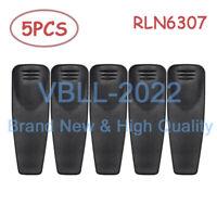 5X RLN6307 Belt Clip For MOTOROLA A10 A12 RDU2080D RDV2080D RDV2020 RDV4100