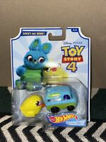 NEW Hot Wheels Disney Toy Story 4 DUCKY AND BUNNY Diecast Vehicle Car 1:64 8/8