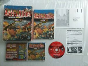 Axis & Allies The Ultimate WWII Strategy Game PC Original Big Box Hasbro