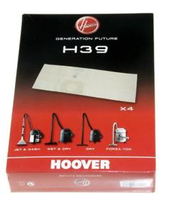 HOOVER Confezione 4 Sacchi Sacchetti Filtri per Bidone Aspiratutto Wet and Dry